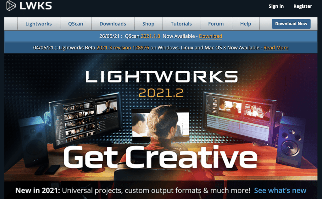 Lightworks video editor software for bloggers