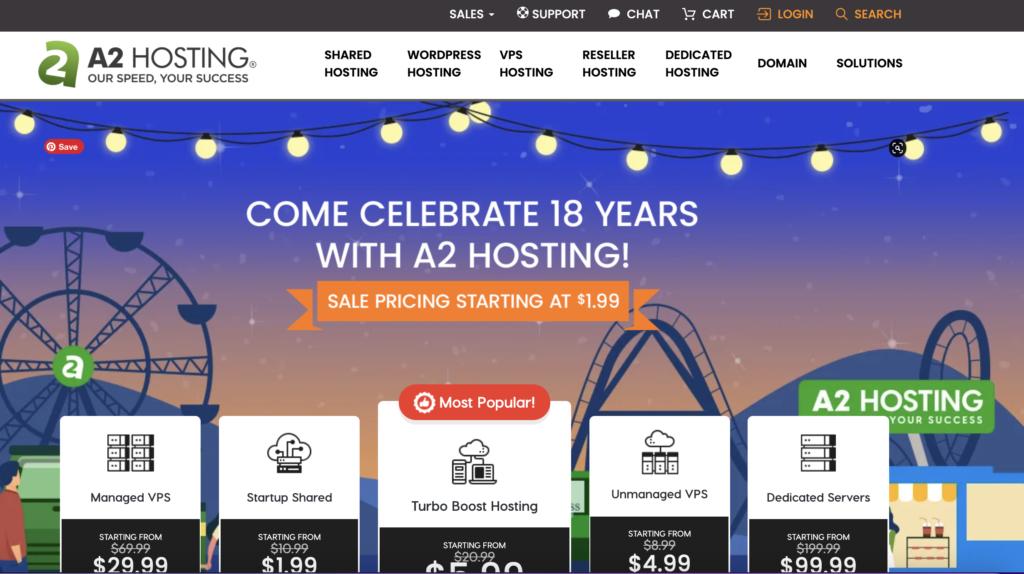 A2hosting Web Hosting in Dubai